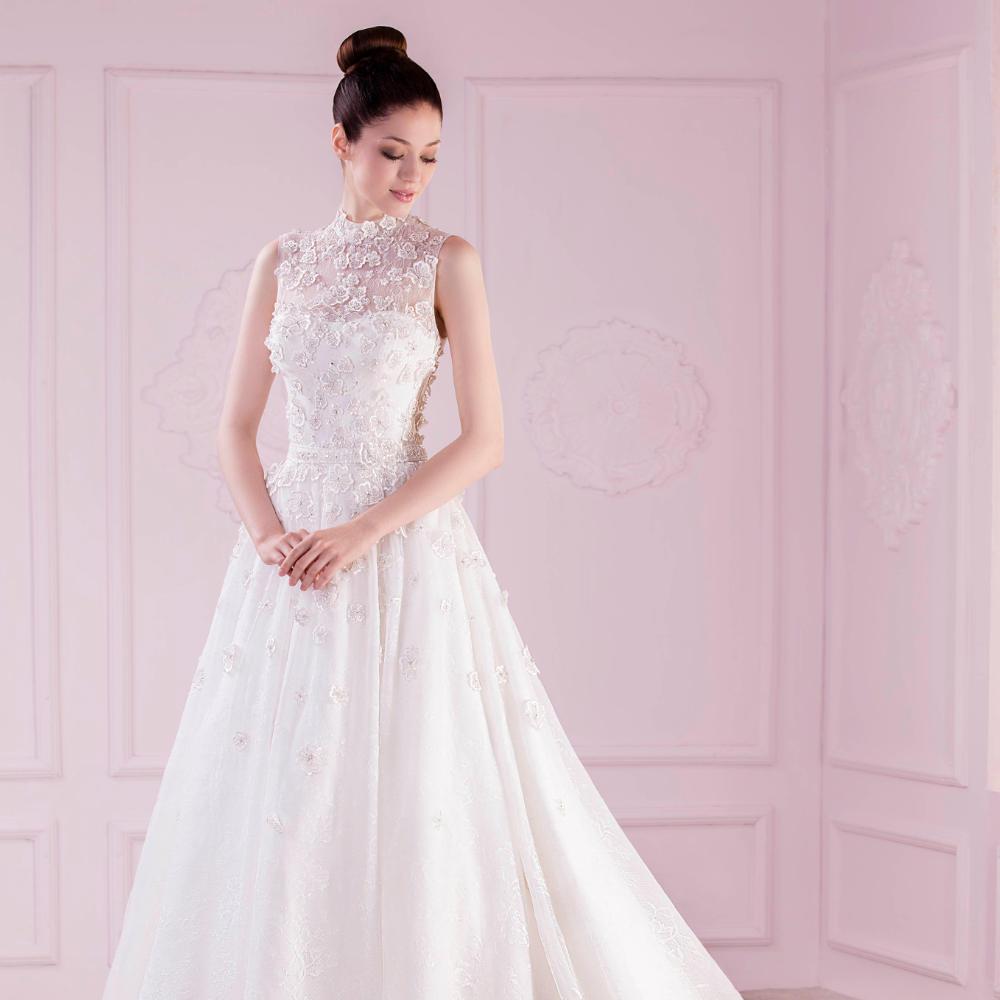 Ungewöhnlich Kostengünstiger Bescheidener Brautkleider Fotos ...